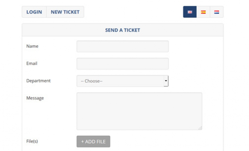 Ticket Support Script in PHP
